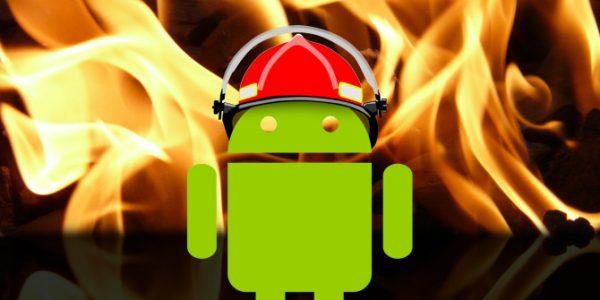 андроид нагревается